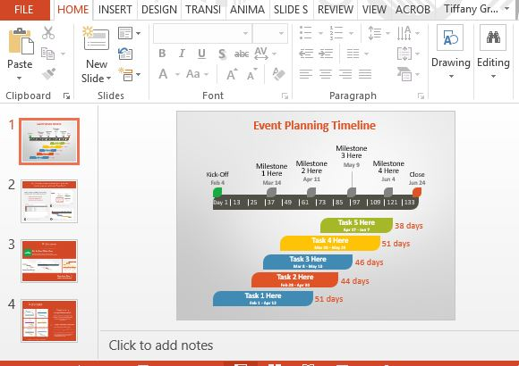 event powerpoint