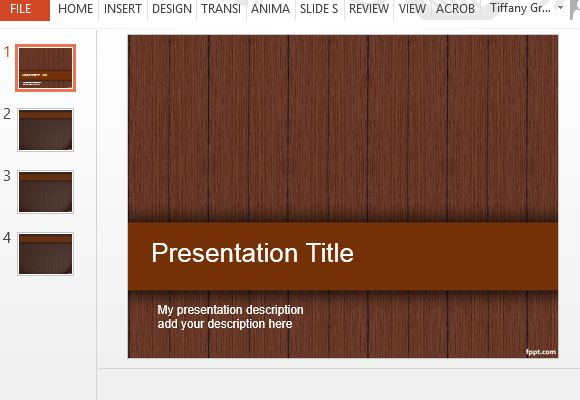 Wood design powerpoint templates toneelgroepblik Image collections