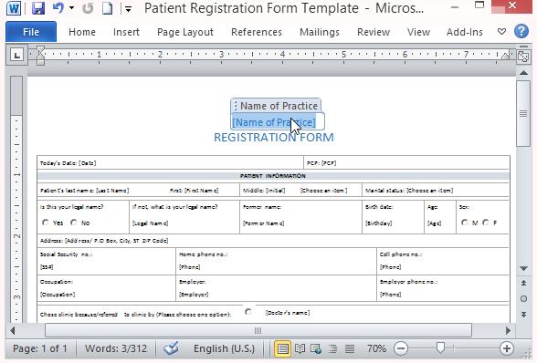 Patient registration form template burge. Bjgmc-tb. Org.