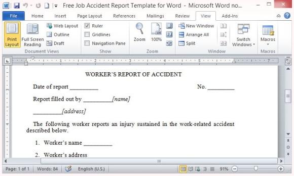 free-job-description-template