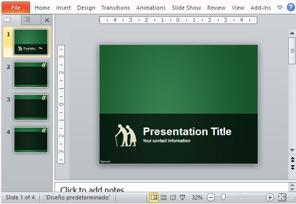 Create Presentations Designed for and About the Elderly