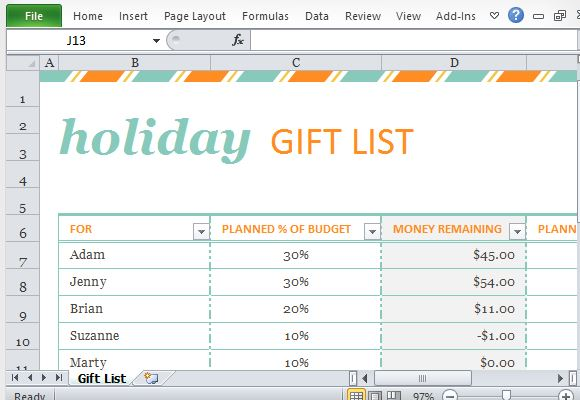 Festive Theme for Holiday Gift-Giving