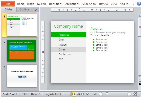 Recreate a Windows 8 UI in Your Presentation