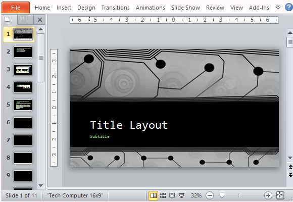 Circuit Board Design Template