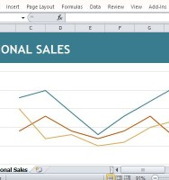 Display Regional Sales in Graphic Format for PowerPoint and Reports