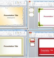 Find Various Slide and Page Border Designs Using PowerPoint