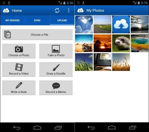 JustCloud For Android Devices