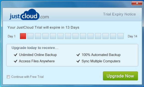 just cloud trial