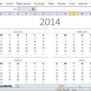 Beautifully Designed Perpetual Calendar for General Use