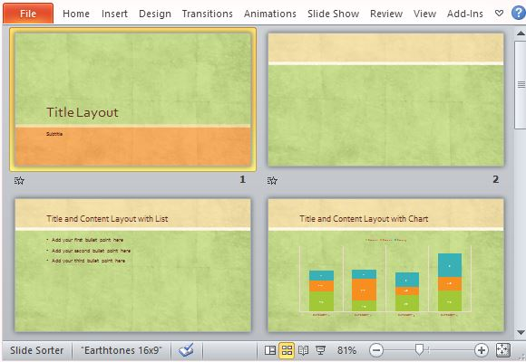 Choose From an Array of Layout Options