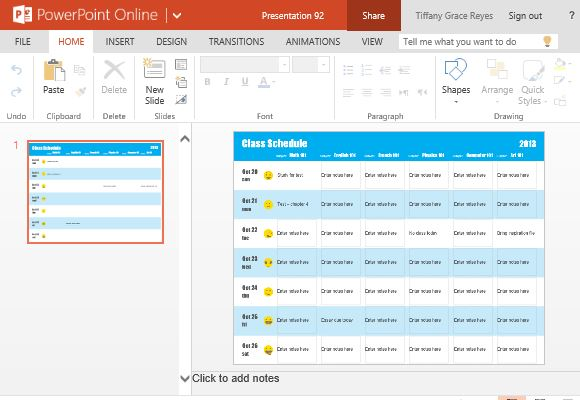 Class Schedule Maker to Keep Students' Schedules Organized