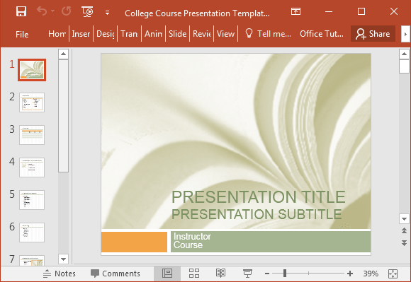 College-course-presentation-template-for-PowerPoint-2016