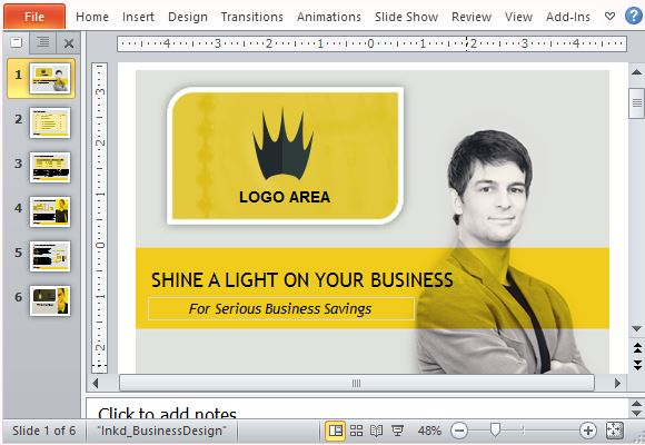 Create a Professional Sales Presentation
