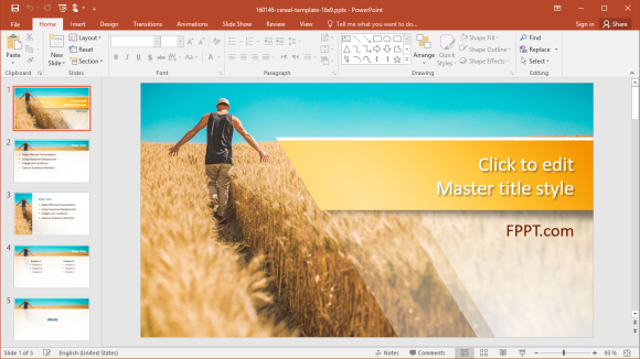 Free Harvest Season PowerPoint Templates