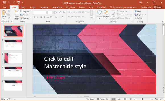 Free Playful PowerPoint Template
