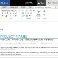 Handy Project Task List Maker for School Projects
