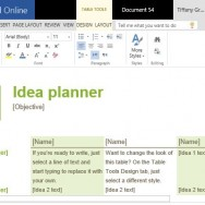 Idea Planner Template for Brainstorming Sessions