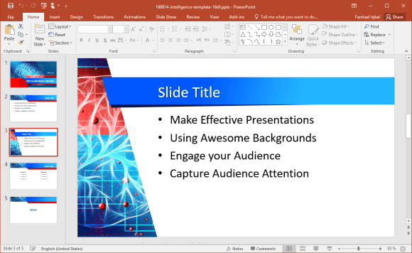 Intelligence PowerPoint Template