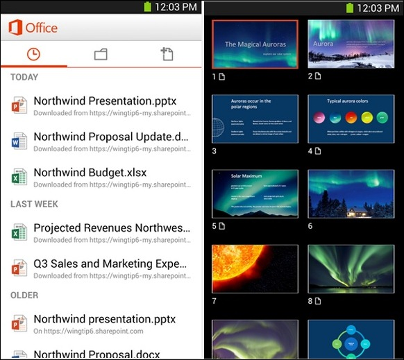 PowerPoint for Android
