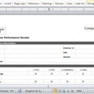 Set and Maintain Standards Using this Performance Review Template