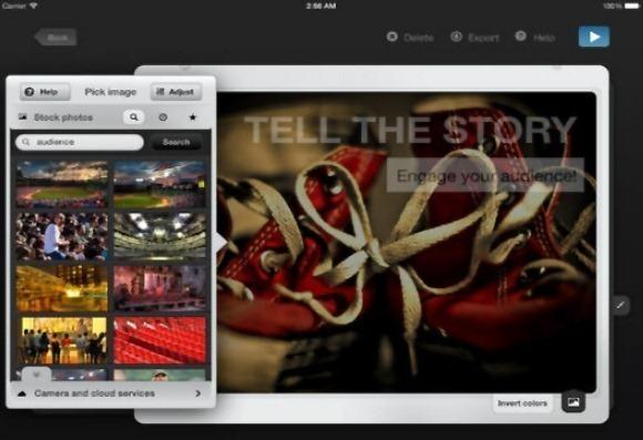 Slide Pocket app for iOS