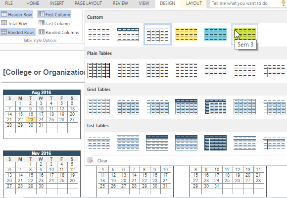 change-the-color-scheme-or-table-design-to-customize-your-calendar