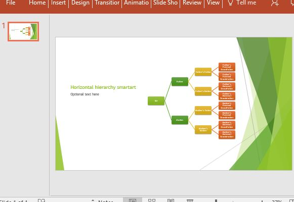 Family Tree Maker PowerPoint Template