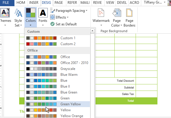 customize-the-template-and-change-the-color-scheme