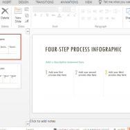 4-step-process-infographic-template