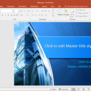 free corporate headquarters powerpoint template