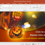 free halloween powerpoint template