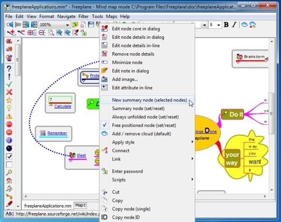 mind mapping options