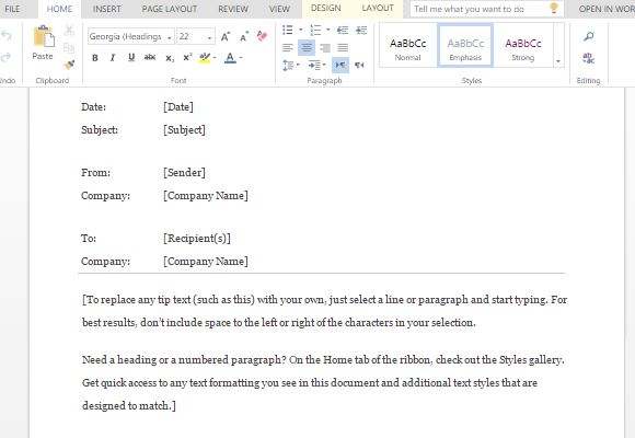 preformatted-confidential-memo-template-for-word