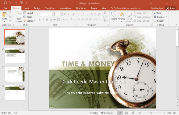 Free Time PowerPoint Templates